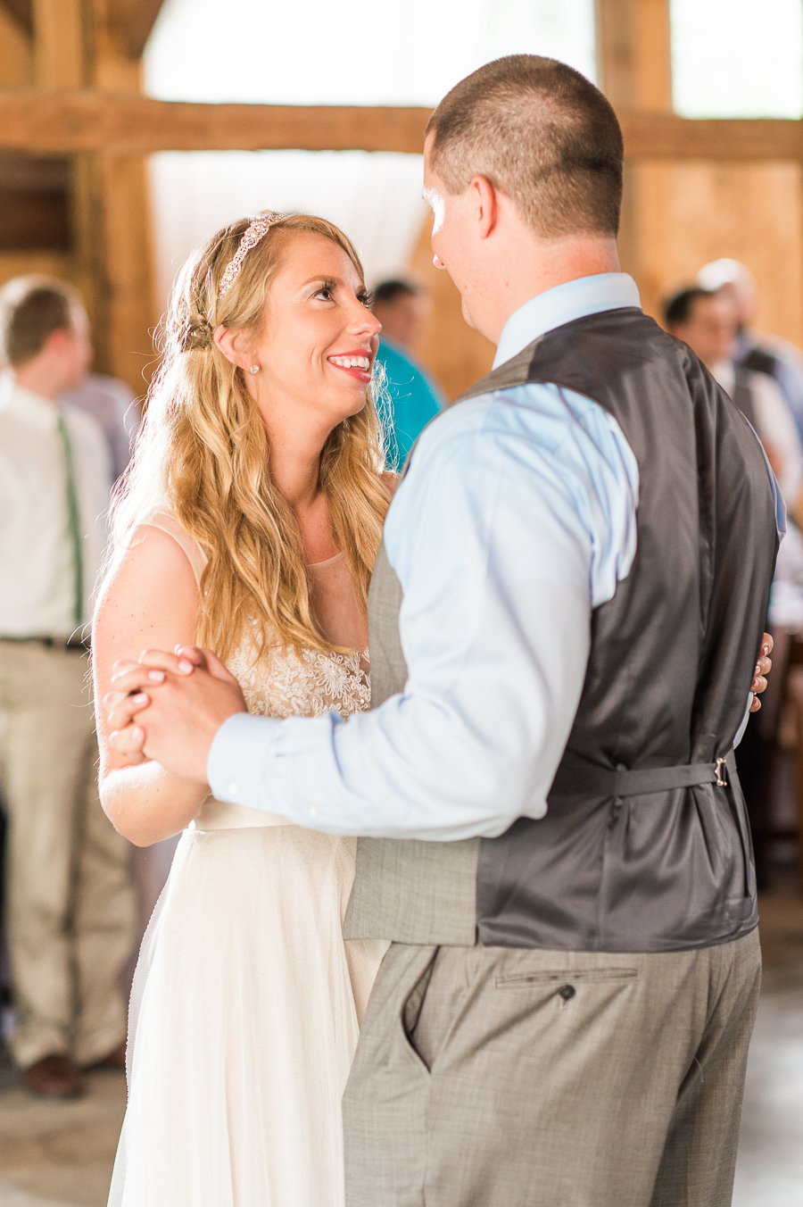 DJ Greyhound provides dj services for weddings in PA, MD, DC, and VA.  Photo courtesy of Stephanie Messick Photography.