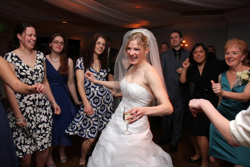 DJ Greyhound provides dj services for weddings in PA, MD, DC, and VA.  Photo courtesy of Jason Putsche' Photography.